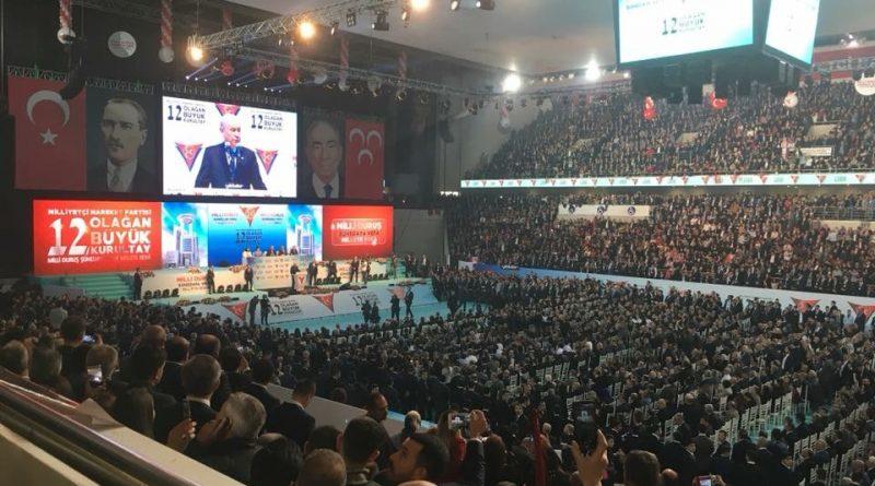 MHP Kurultayı Makedonya Türk Partilerini Bir Araya Getirdi