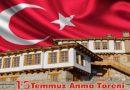 15 Temmuz Şehitleri Makedonya'da Anılacak