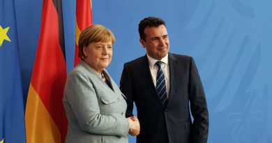 AB ve NATO Yolunda Almanya'dan Makedonya'ya Tam Destek