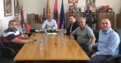 THP Genel Başkanı Enes İbrahim Kırcova Belediye Başkanı Dehari'yi Ziyaret Etti
