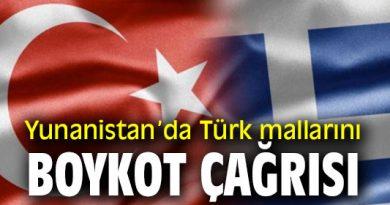 Yunanistan'da Türk Ürünlerini Boykot Etme Çağrısı