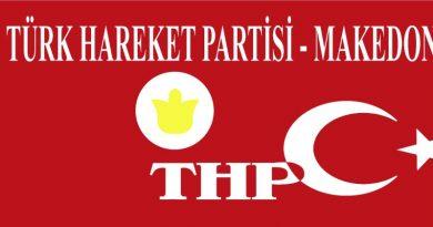 THP: Reform Hükümeti Makedonya'yı Avrupa Birliği Yoluna Geri Döndürdü