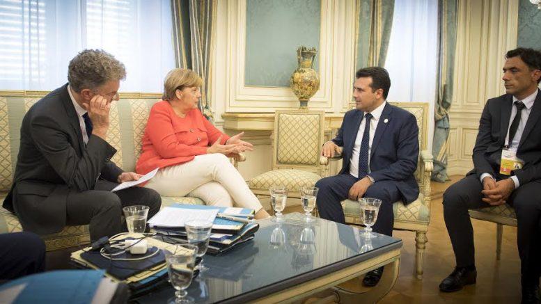 Zaev, Merkel İle Görüşecek