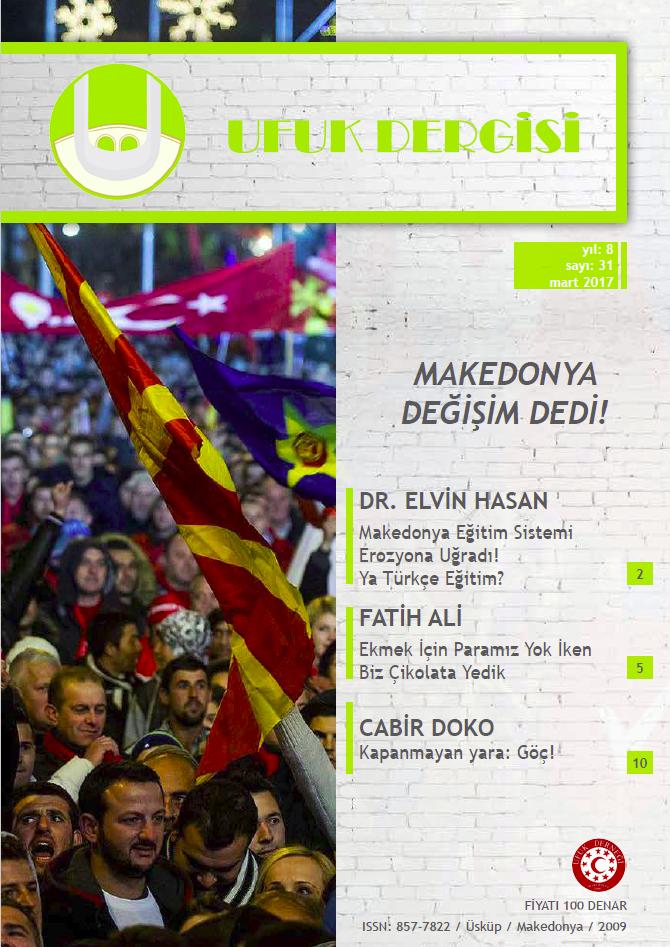 Ufuk Dergisi 31.Sayı