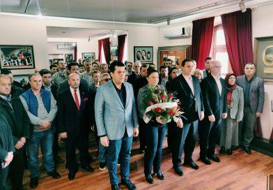 THP Atatürk'ü Manastır Askeri İdadisinde Andı