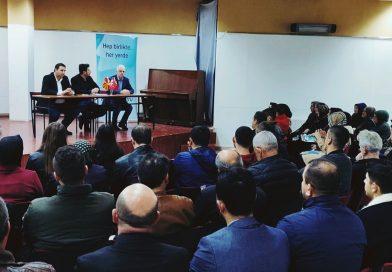 THP Gostivar'da Halkla Buluştu