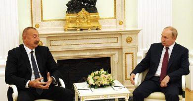 Azerbaycan Cumhurbaşkanı Aliyev ile Rusya Devlet Başkanı Putin görüştü