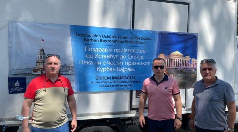 İBB Başkanı Ekrem İmamoğlu Kuzey Makedonya'da kurban kesim organizasyonu gerçekleştirdi