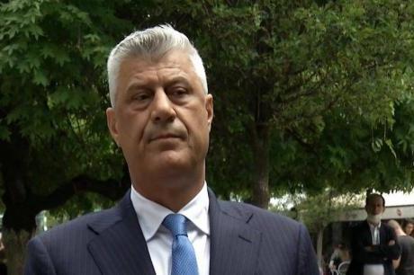 Kosova Cumhurbaşkanı Taçi Lahey'de İfade Veriyor